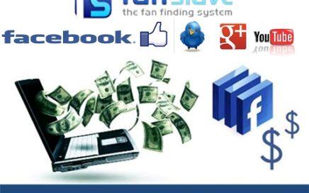 Ganar dinero para paypal con facebook y twirer en fanslave 2017