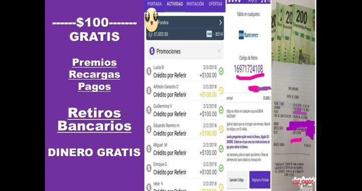 Gane $1000 Pesos GRATIS en Un Día Con BillMo  /   RETIROS BANCARIOS - PREMIOS-RECARGAS-  GRATIS 2018
