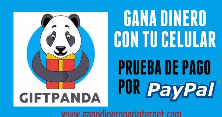 GiftPanda PAGA POR PAYPAL | Gana Dinero Con Tu Celular