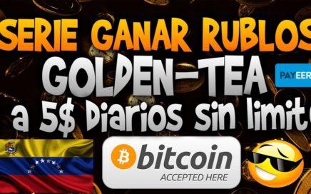 Golden tea - Serie ganar rublos / TUTORIAL COMPLETO / Informaciones millonarias