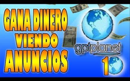 GPTPlanet 1 | Gana dinero viendo anuncios | SomexMoney