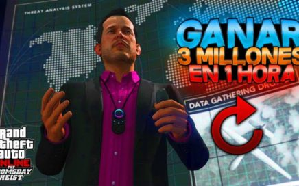 GTA 5   COMO GANAR 3.000.000$ EN 1 HORA LEGALMENTE! 1.42 [PS4/XBOXONE]