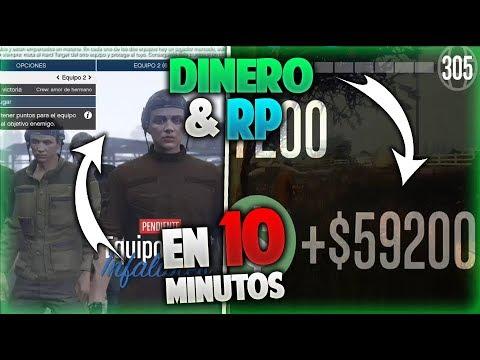 GTA 5 ONLINE GANA MUCHO DINERO Y RP CON ESTE MODO DE JUEGO!! HARDEST TARGET  |ONE PS4 PC