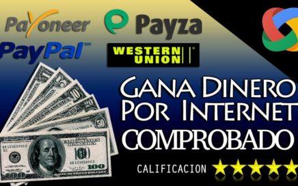 ¡INCREIBLE! GANA $8 DOLARES EN UN SOLO DIA POR PAYPAL 2018 | FÁCIL DE HACER (VIDEO REAL)