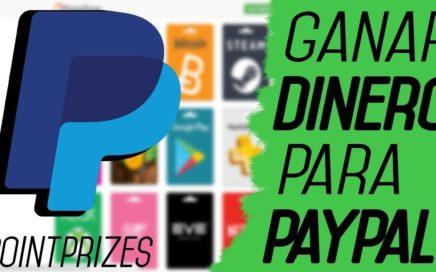 Increíble Pagina para Ganar Dinero 20$ para PayPal  Points Prizes