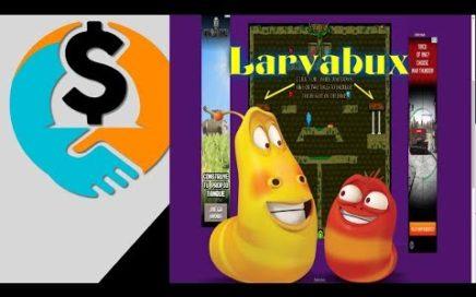 Larvabux || pago instantáneo a través de Paypal, Payza, Perfect Money, Payeer, Bitcoin.