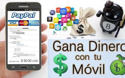 Las Mejores Aplicaciones para ganar dinero desde tu móvil este 2018 / App para ganar dinero 2018