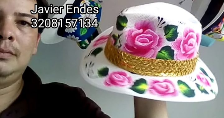 Manualidades para vender - sombreros pintados