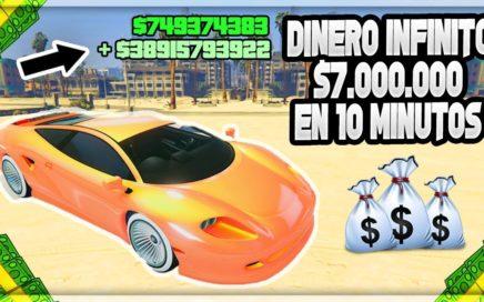 Mi SECRETO para ganar $7,000,000 en 10 MINUTOS en GTA 5 Online! (Truco Dinero Facil)