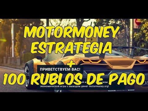 Motormoney | Estragia + retiro de 100 rublos/ 1.70 dolares (minimo de retiro 1 rublo)