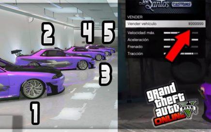 Muy Fácil $1,000,000 Cada 45 Segundos En GTA 5 Online Truco Dinero