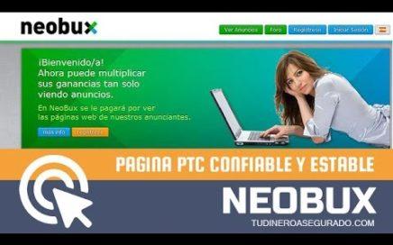 Neobux - Como Ganar Dinero para Paypal 2016 | Tu Dinero Asegurado