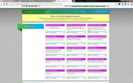 Neobux la Mejor PTc -- Gana dinero Online haciendo clics desde tu hogar