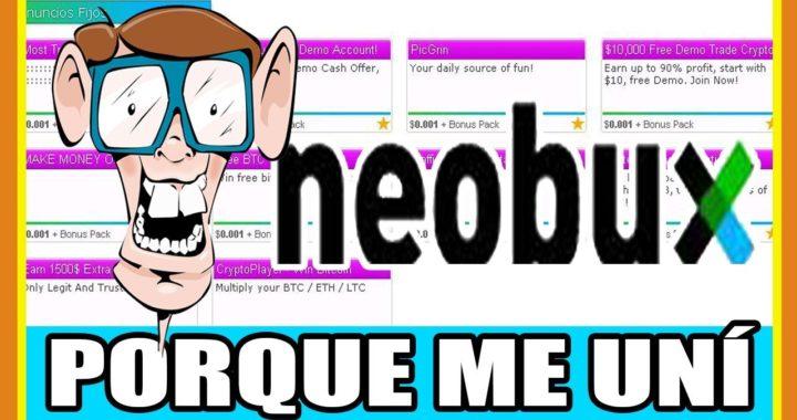 NEOBUX Porque me uní Despues de 10 AÑOS | Dinero por Internet