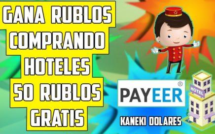 Nueva Pagina Gana Rublos Comprando Hoteles. Dinero para Payeer