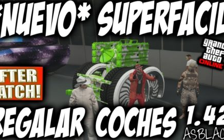 *NUEVO* - DAR, REGALAR, PASAR COCHES AMIGOS - GTA 5 - COCHES GRATIS - AFTER PATCH - (PS4 - XBOX One)