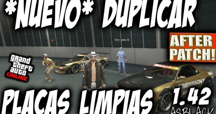 *NUEVO* - DUPLICAR COCHES - MATRICULAS o PLACAS LIMPIAS - GTA 5 - AFTER PATCH - (PS4 - XBOX One)