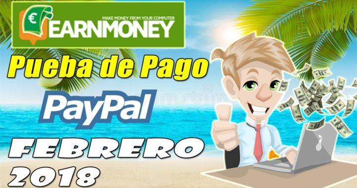 Nuevo Pago de Earn Money Network por Paypal 2018 | Gokustian