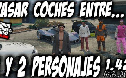 *NUEVO* - PASAR COCHES DEL 1 PERSONAJE AL 2 PERSONAJE - GTA 5 - DUPLICAR COCHES - (PS4 - XBOX One)
