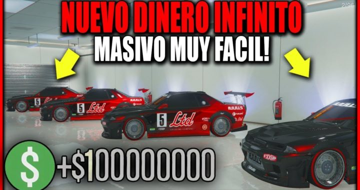 NUEVO TRUCO DINERO INFINITO DUPLICAR AUTOS MASIVO! GTA 5 1.42 MONEY GLITCH FACIL!