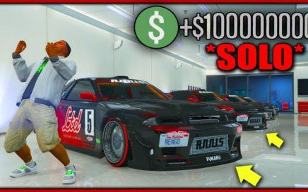 NUEVO TRUCO DINERO INFINITO SOLO SIN AYUDA BRUTAL! GTA 5 +100.000.000 EN 1 HORA!