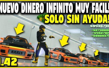 NUEVO TRUCO DINERO INFINITO SOLO SIN AYUDA MUY FACIL! GTA 5 EL MEJOR METODO PARA HACER DINERO!