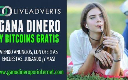 Oliveadverts | Gana DINERO A PAYPAL Viendo Anuncios Y Consigue Bitcoins GRATIS | Explicación