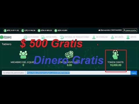 Oportunidad Unica : $ 500 Gratis SoIo Hasta EI Miercoles 14 (10000 tokens gratis)