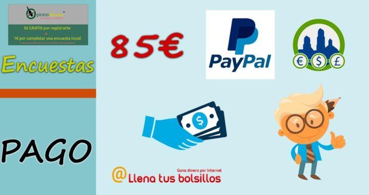 Pago 85€ de Opinion Bureau en Paypal | Derrota la Crisis y los negocios más fiables de internet
