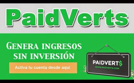 PaidVerts | Gana Dinero Gratis Por Ver Anuncios De Publicidad