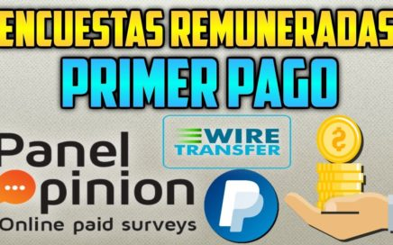 PANEL OPINION PAGA | GANA DINERO CON ENCUESTAS REMUNERADAS 2018 | + COMP PAGO