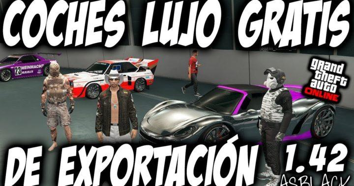 PARCHEADO - COCHES DE LUJO GRATIS - VEHICULOS de EXPORTACION - GTA 5 - GUARDAR y ASEGURAR