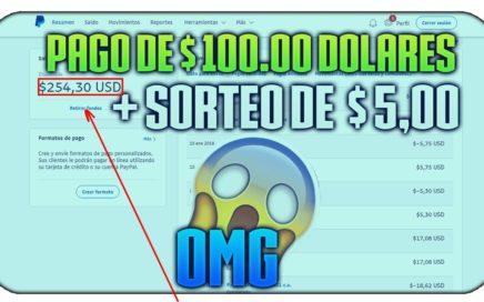 POINTSPRIZES ME PAGO $ 100.00 DOLARES |  COMPROBANTE DE PAGO + SORTEO DE $ 5.00 DOLARES