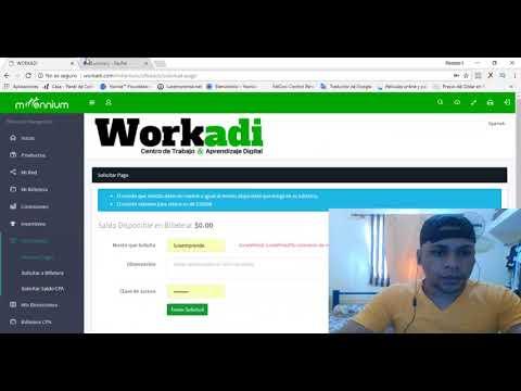 Prueba De Pago $65 USD en Horas WORKADI OFICIAL (Gana Dinero Por Internet 2018)