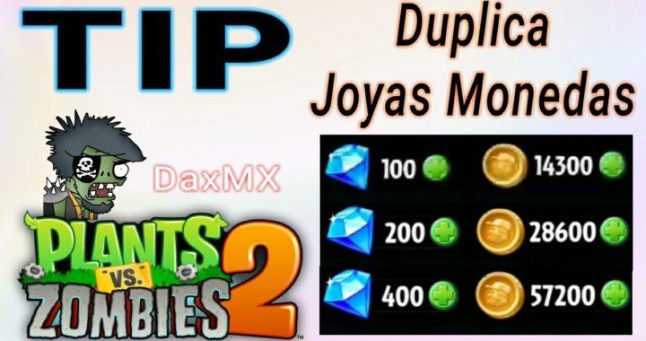 PvZ 2 Tip: Duplica tus Joyas y Monedas Fácil, Rápido y sin Hacks