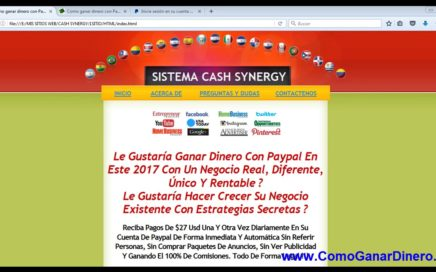 Rápido y Sencillo Método para ganar dinero y hacer crecer negocios online 2017