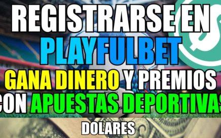 Registrarse en Playfulbet | Gana Premios y Dinero con Apuestas Deportivas Totalmente Gratis