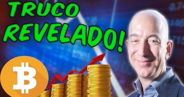 Revelado ¡Bezos gana más dinero con un sistema Secreto de Bitcoin, Podrás Ganar dinero sin impuestos