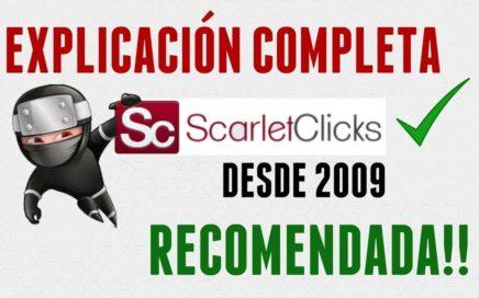 Scarlets Clicks | Gana Dinero Gratis Por Ver Anuncios De Publicidad