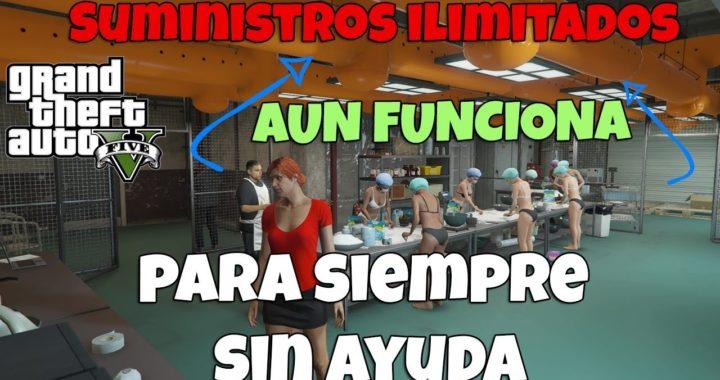 SIGUE FUNCIONANDO SUMINISTROS INFINITOS NEGOCIOS MC GTA V 1.42 DINERO INFINITO