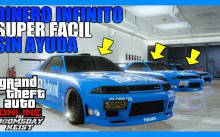 *SIN AYUDA* TRUCAZO DINERO INFINITO DUPLICAR AUTOS!! 1.42 [$1,000,000 CADA 6 MINUTOS]   GTA 5 ONLINE