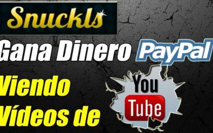 Snuckls Explicación Completa | Gana Dinero Gratis a Paypal Viendo Vídeos de Youtube | Gokustian
