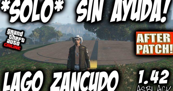 *SOLO* - SIN AYUDA - DUPLICAR COCHES - GTA 5 - AFTER PATCH - LAGO ZANCUDO - (PS4 - XBOX One)
