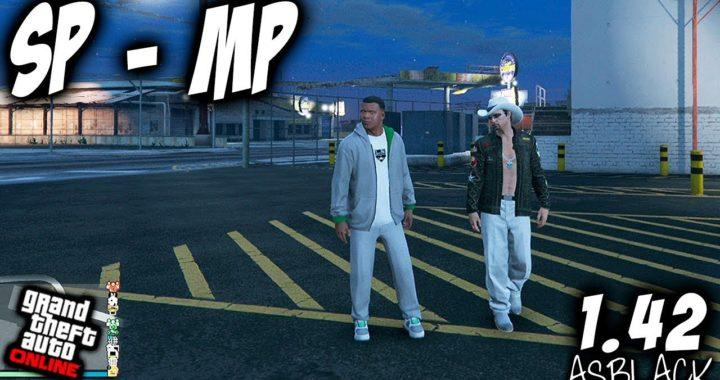 SP to MP - Single Player to Multiplayer - GTA 5 - JUGAR ONLINE PERSONAJE MODO HISTORIA - (PS4 - XB1)