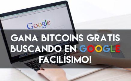 ST | Mira cómo ganar dinero bitcoin GRATIS buscando en GOOGLE! SÚPER FACIL!