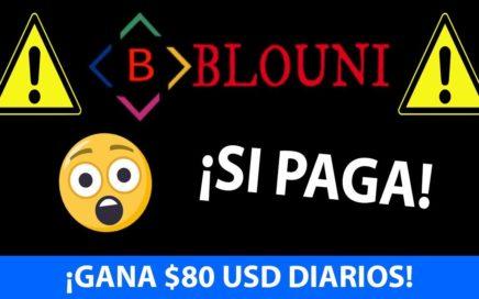 ¿Te dijeron esto de Blouni? | $100 EN 2 DÍAS | Que es Blouni | Blouni 2018 | Estrategias