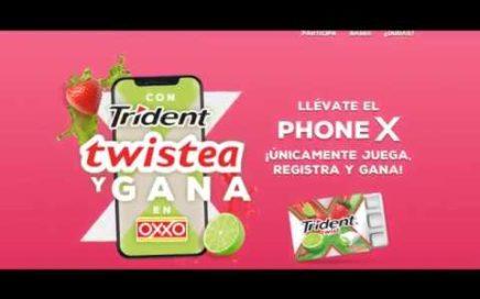 Trident Twistea por un iPhone x y gana dinero con Cocacola | C-de Colecciones