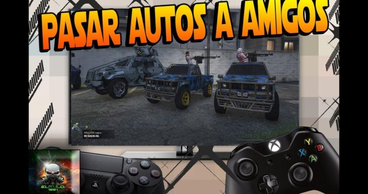 *TRUCAZO* GTA5 ONLINE REGALAR VEHICULOS AMIGOS FACILISIMO VERSION 1.42 PS4/XBOX