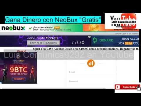 """ÚLTIMO MINUTO!! VENEZOLANOS """"GANA DINERO ONLINE GRATIS"""" con Neobux Sin ninguna INVERSIÓN"""
