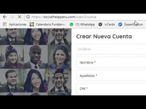 Video 1   Gana Dinero con Social Help Peru   Como Inscribirse